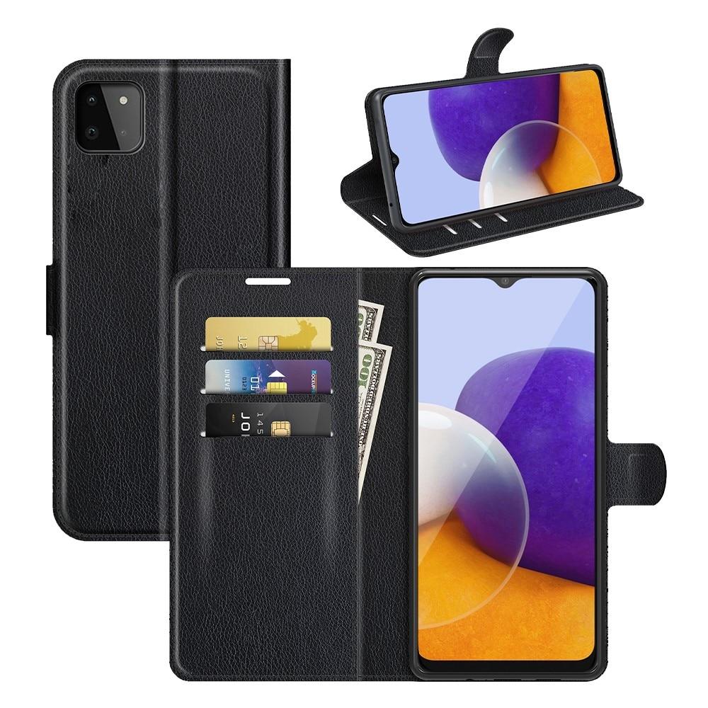 Mobilfodral Samsung Galaxy A22 5G svart
