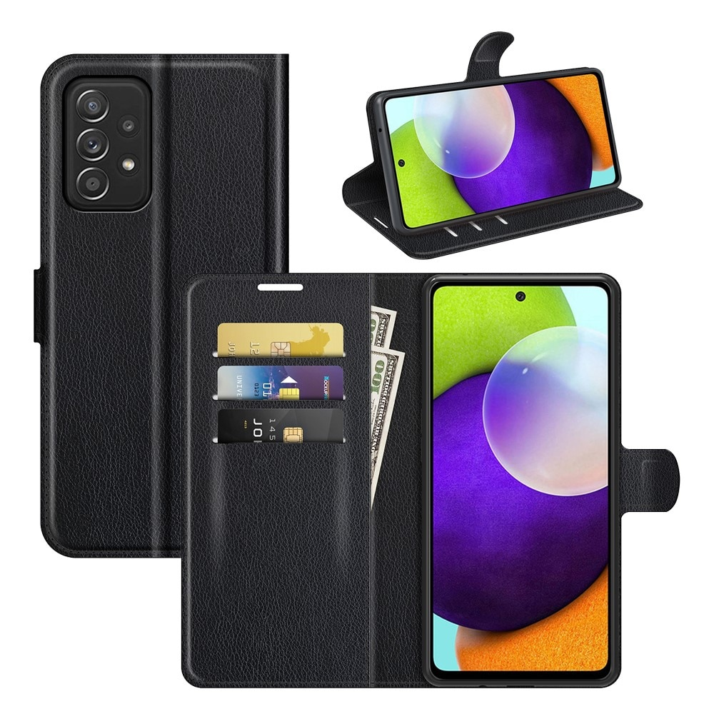 Mobilfodral Samsung Galaxy A52/A52s svart