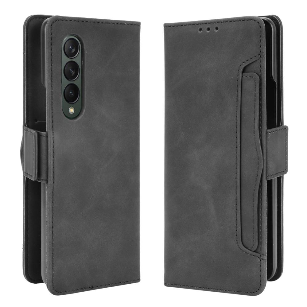 Multi Plånboksfodral Samsung Galaxy Z Fold 3 5G svart