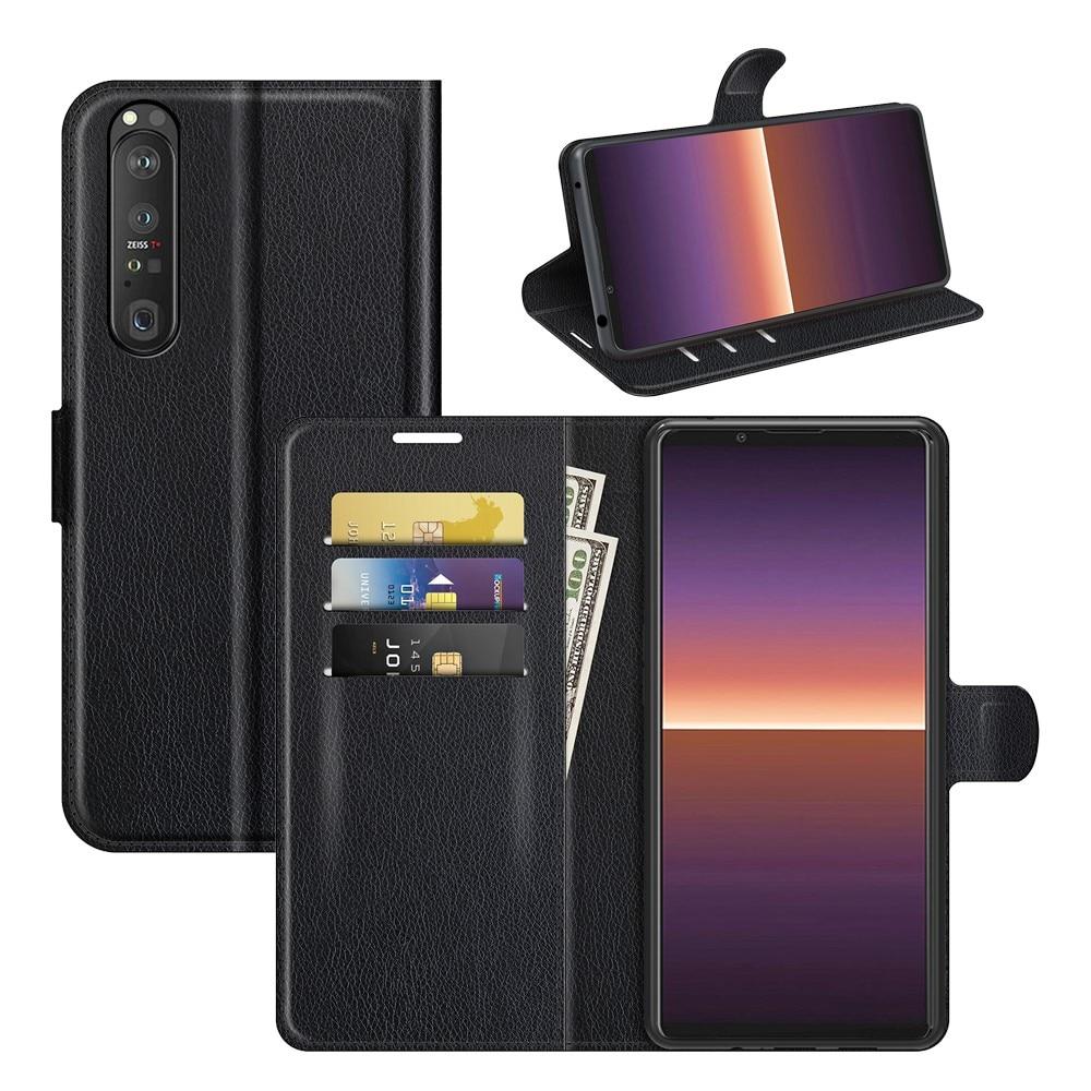 Mobilfodral Sony Xperia 1 III svart