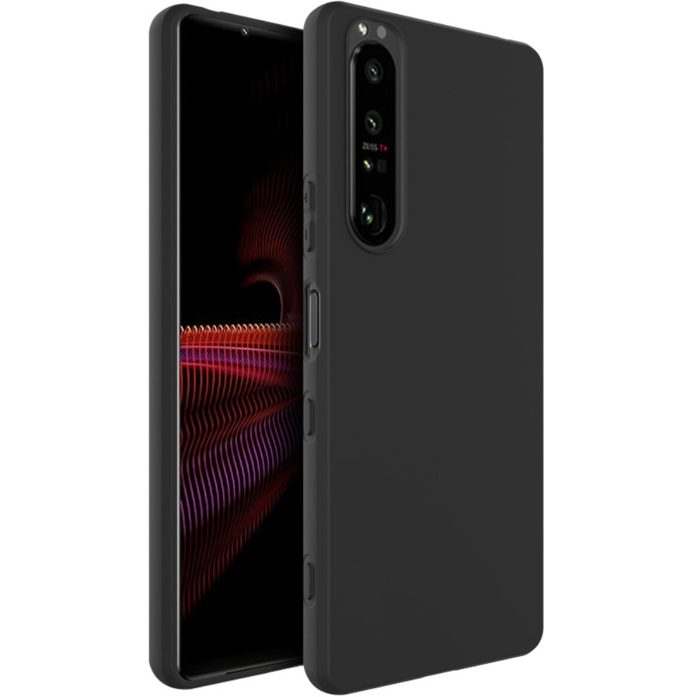 Frosted TPU Case Sony Xperia 1 III Black