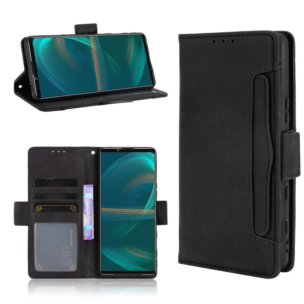 Multi Plånboksfodral Sony Xperia 5 III svart