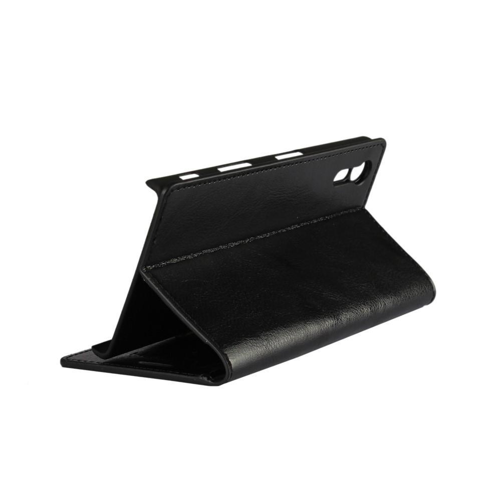 Mobilfodral Äkta Läder Sony Xperia XZ svart