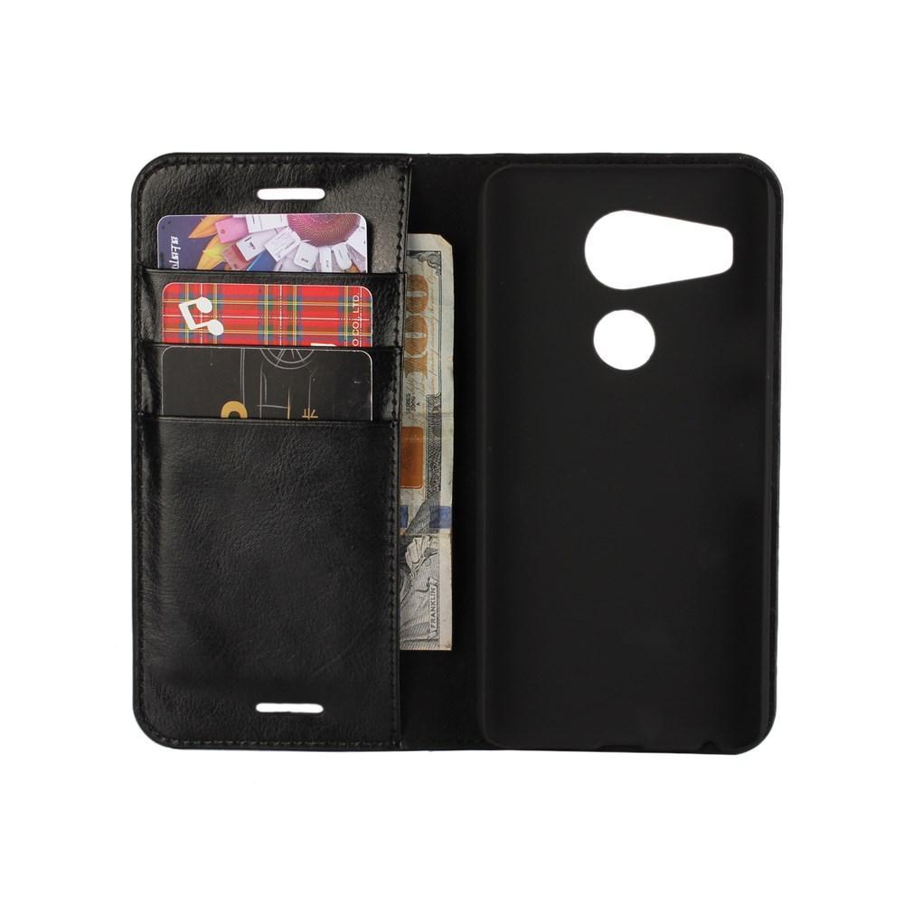 Mobilfodral Äkta Läder Nexus 5X svart