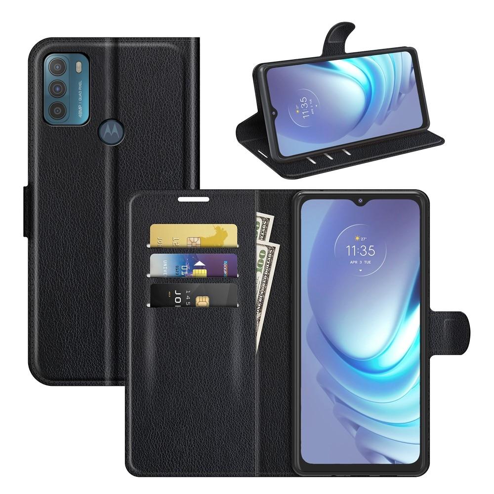 Mobilfodral Motorola Moto G50 svart