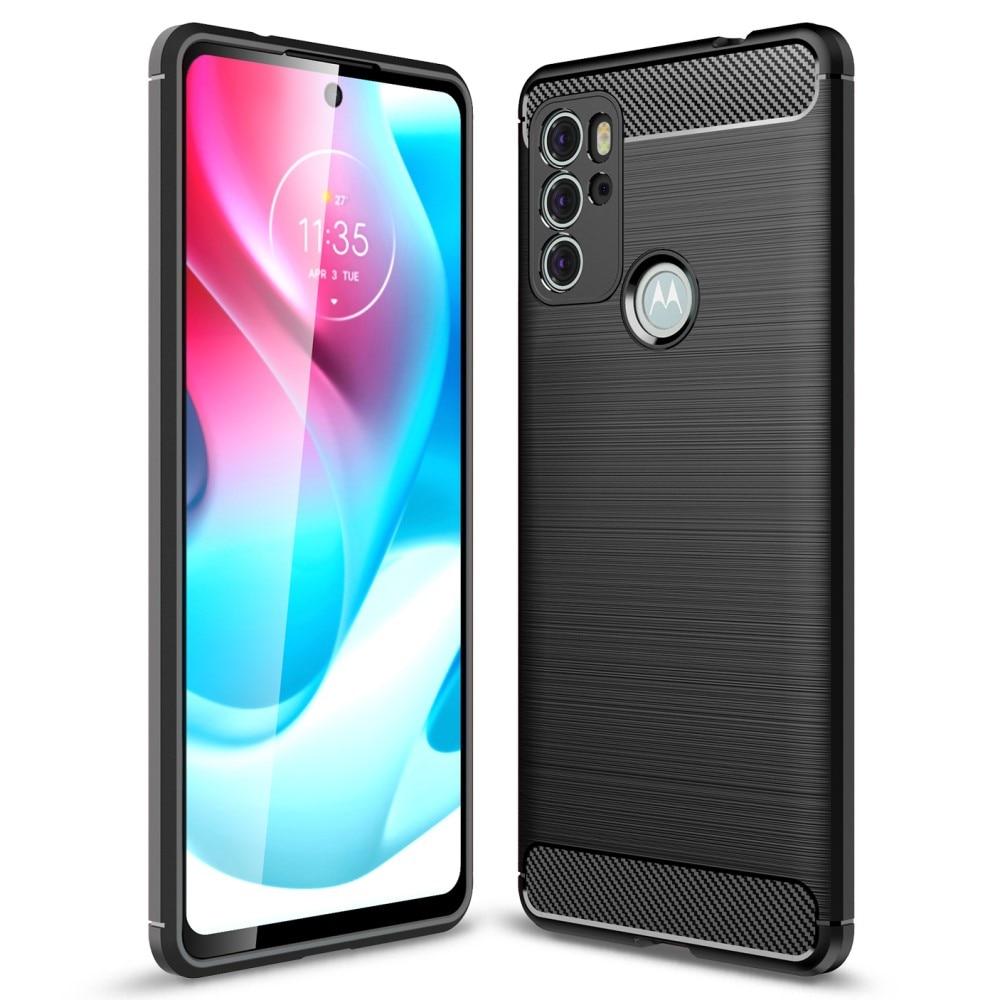 Brushed TPU Case Motorola Moto G60s Black