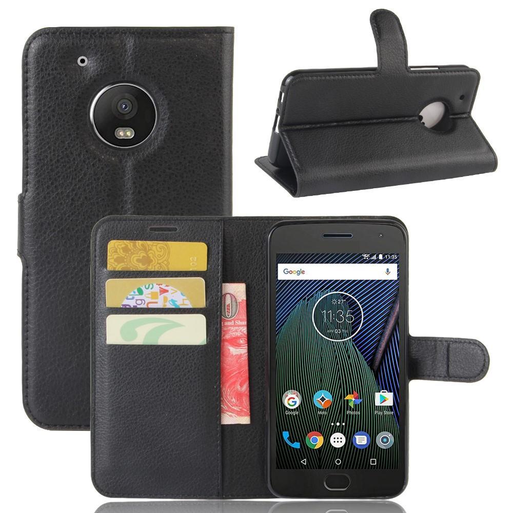 Mobilfodral Lenovo Moto G5 Plus svart