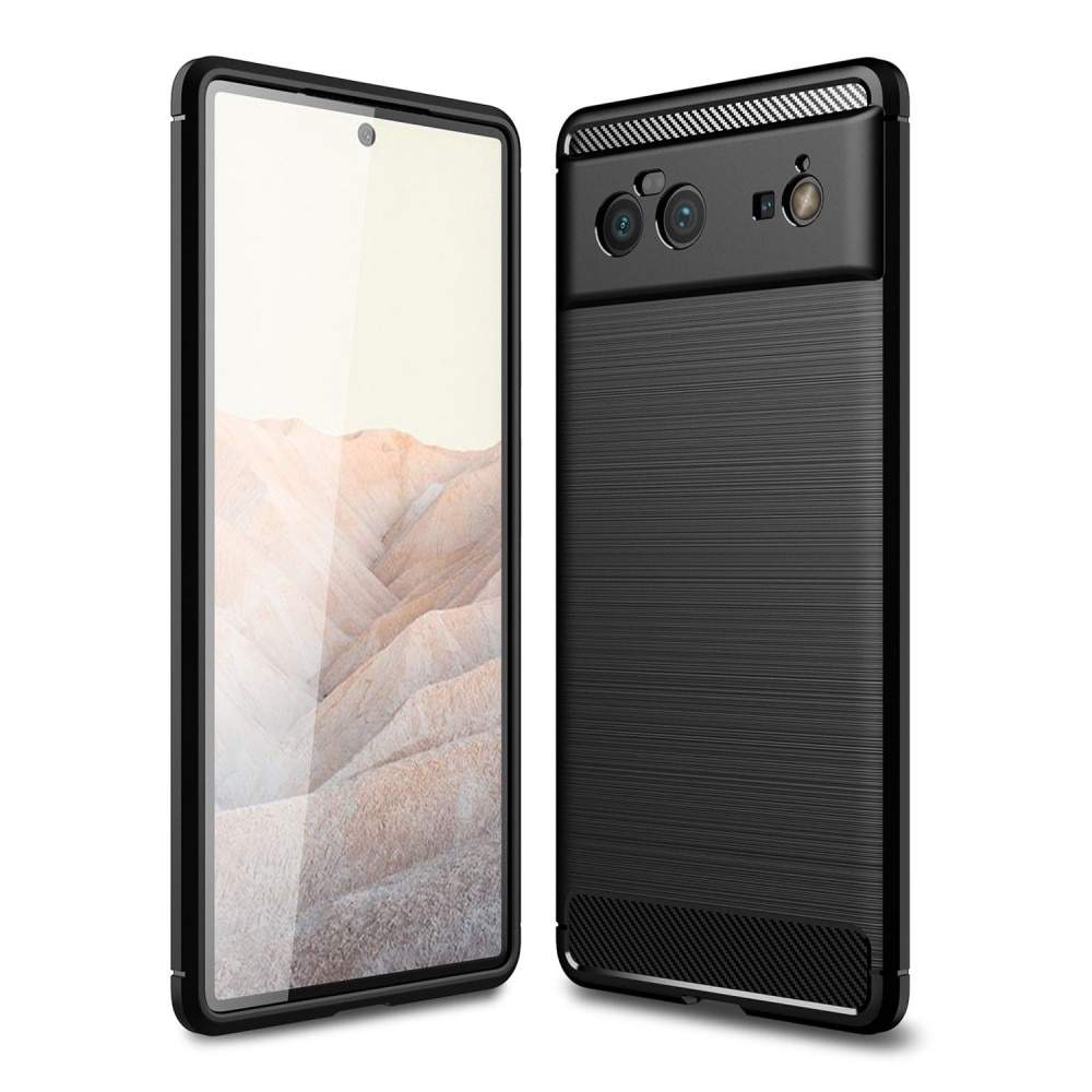 Brushed TPU Case Google Pixel 6 Black
