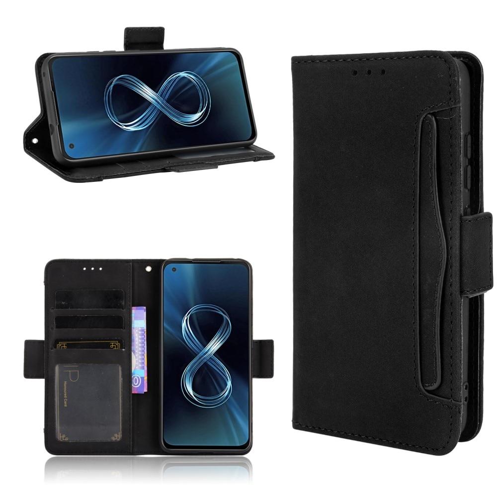 Multi Plånboksfodral Asus Zenfone 8 svart