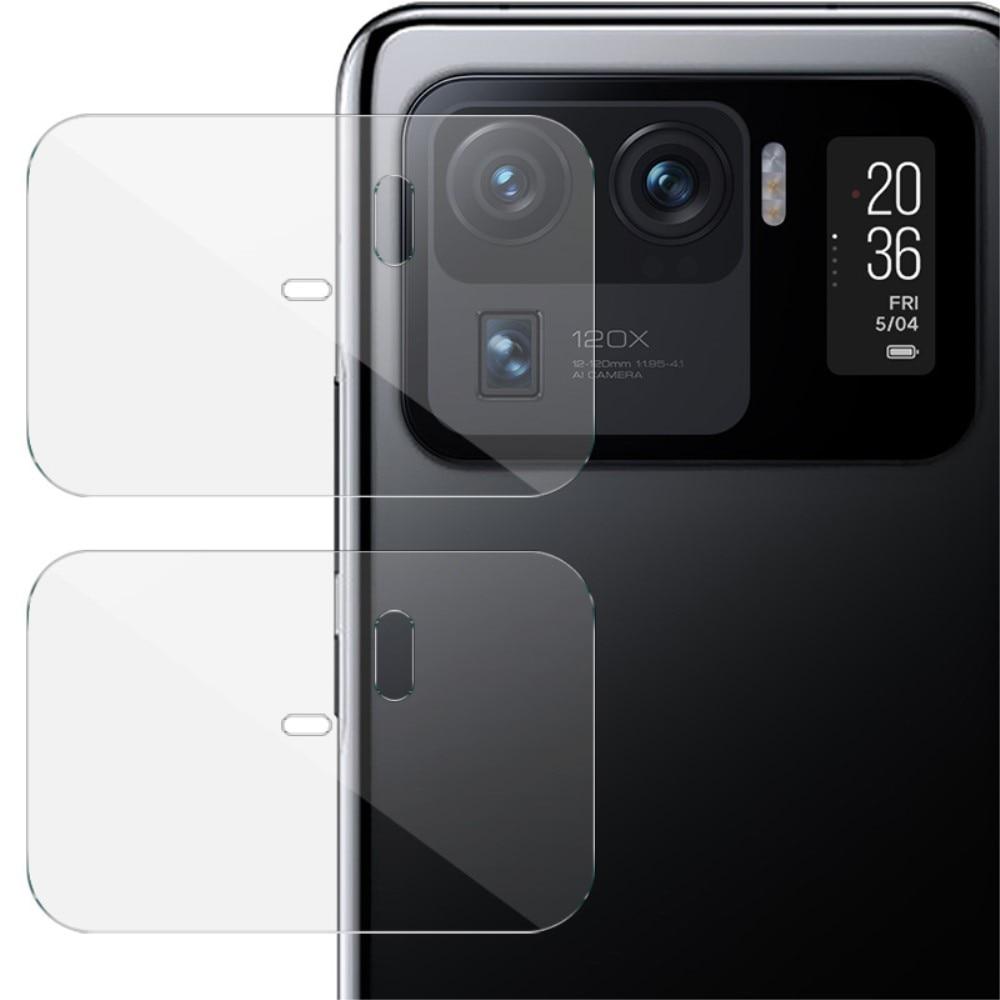 2-pack Härdat Glas Linsskydd Xiaomi Mi 11 Ultra