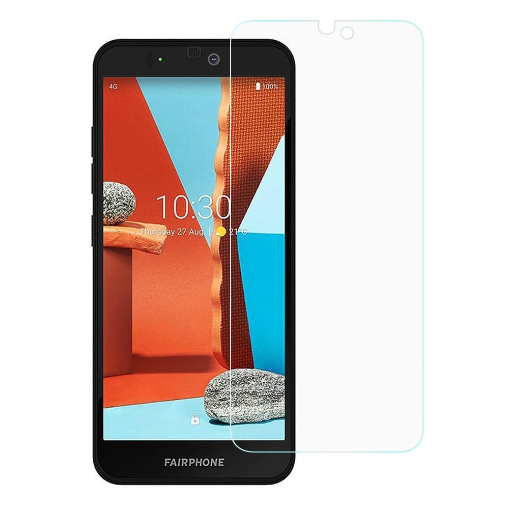 Härdat Glas 0.3mm Skärmskydd Fairphone 3 Plus