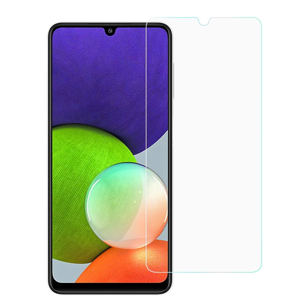 Härdat Glas 0.3mm Skärmskydd Samsung Galaxy A22 4G