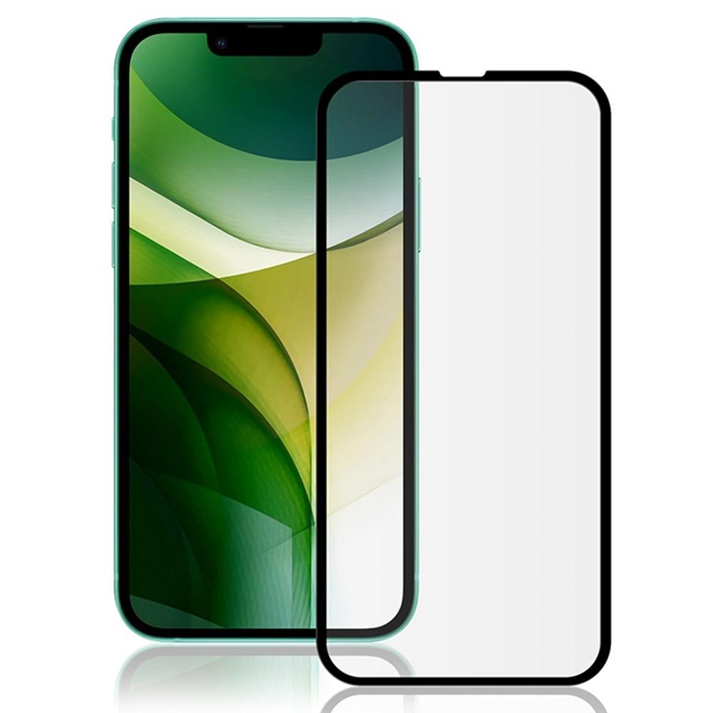 Heltäckande Härdat Glas iPhone 13 Mini svart