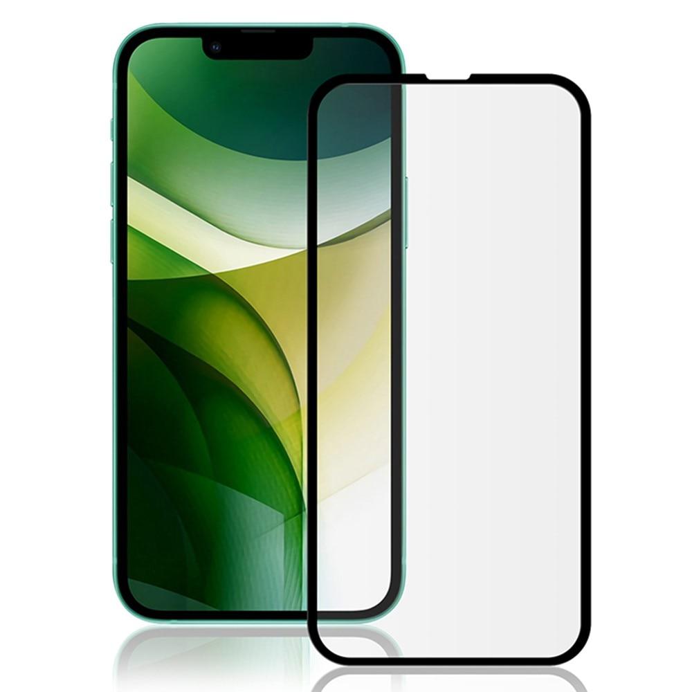 Heltäckande Härdat Glas iPhone 13/13 Pro svart