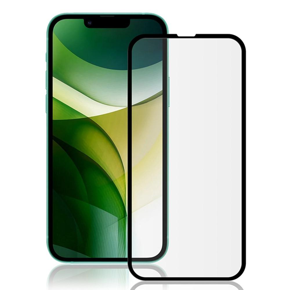 Heltäckande Härdat Glas iPhone 13 Pro Max svart