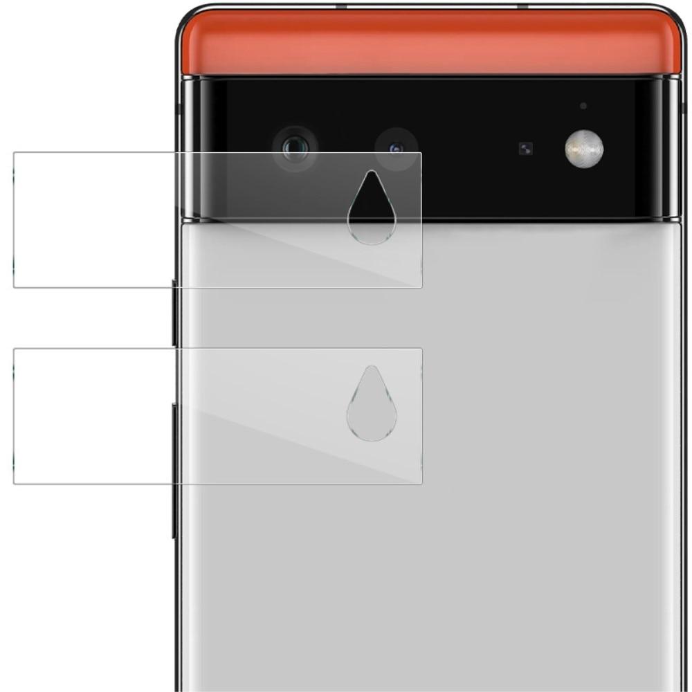 2-pack Härdat Glas Linsskydd Google Pixel 6