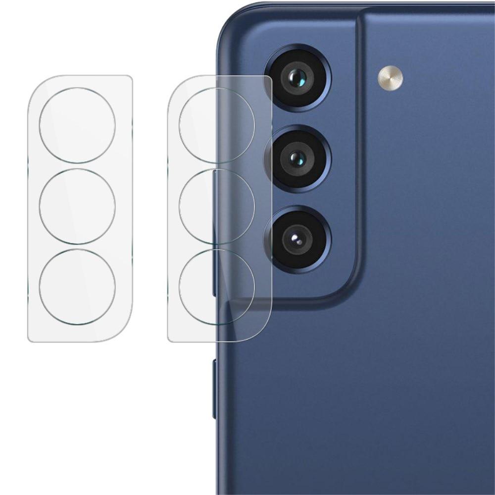 2-pack Härdat Glas Linsskydd Samsung Galaxy S21 FE