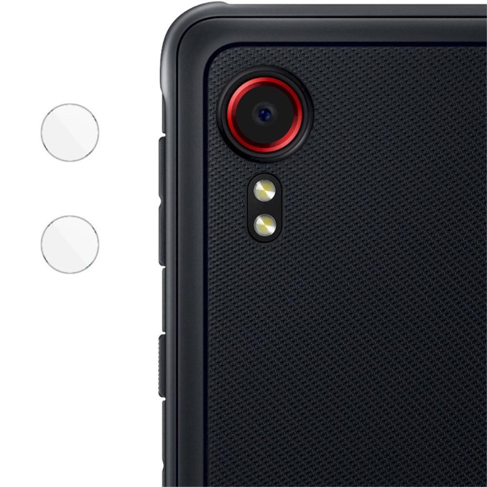 2-pack Härdat Glas Linsskydd Galaxy Xcover 5