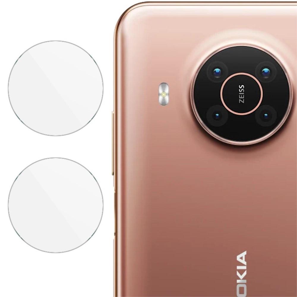 2-pack Härdat Glas Linsskydd Nokia X10/X20
