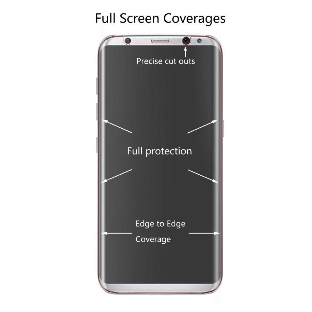Heltäckande Skärmskydd Samsung Galaxy S8 Plus