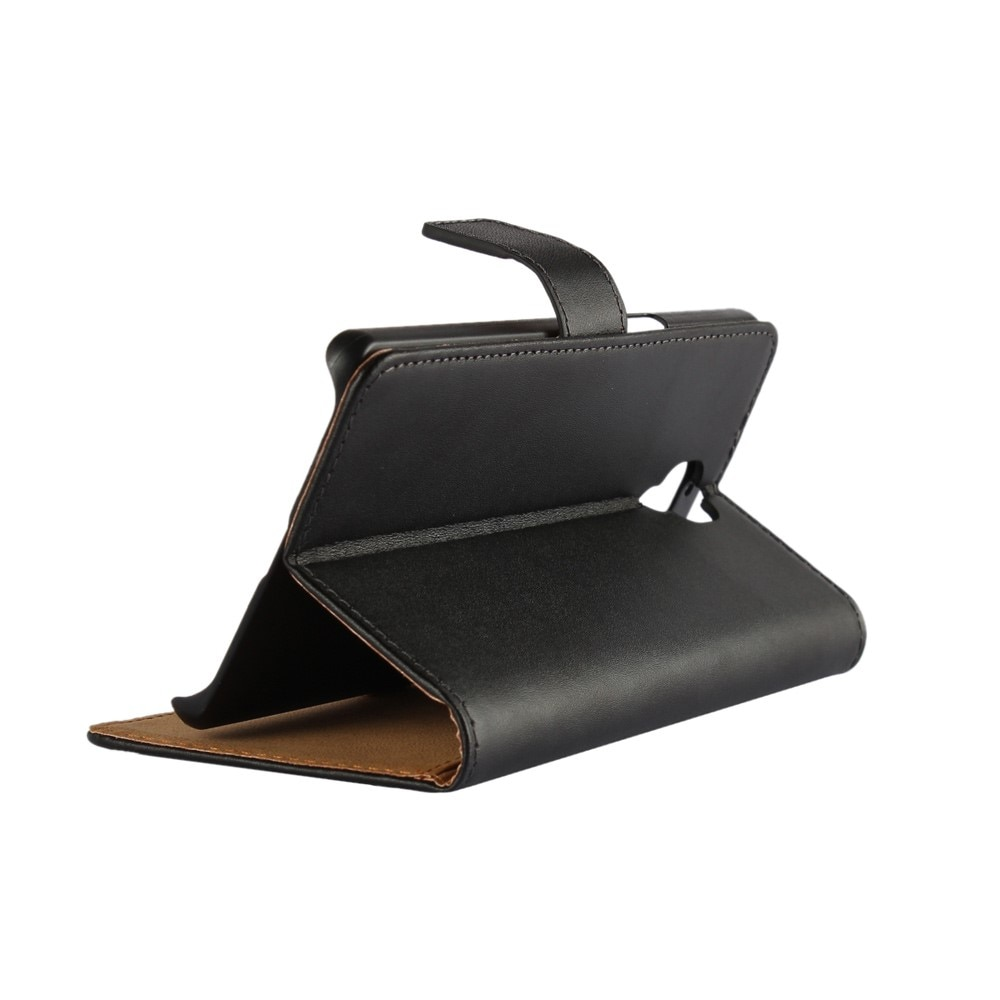 Plånboksfodral OnePlus 3/3T svart/brun