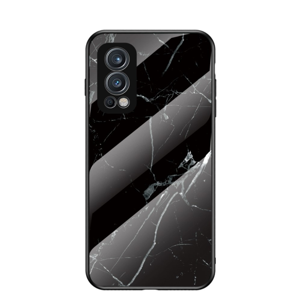 Skal Härdat Glas OnePlus Nord 2 5G svart marmor