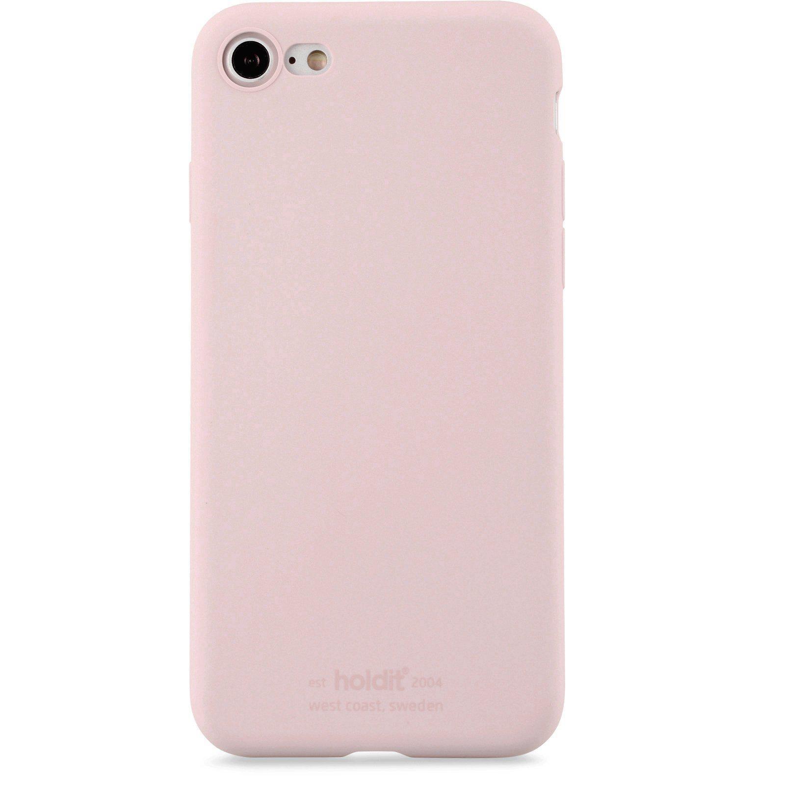 Silikonskal iPhone 7/8/SE 2020 Blush Pink