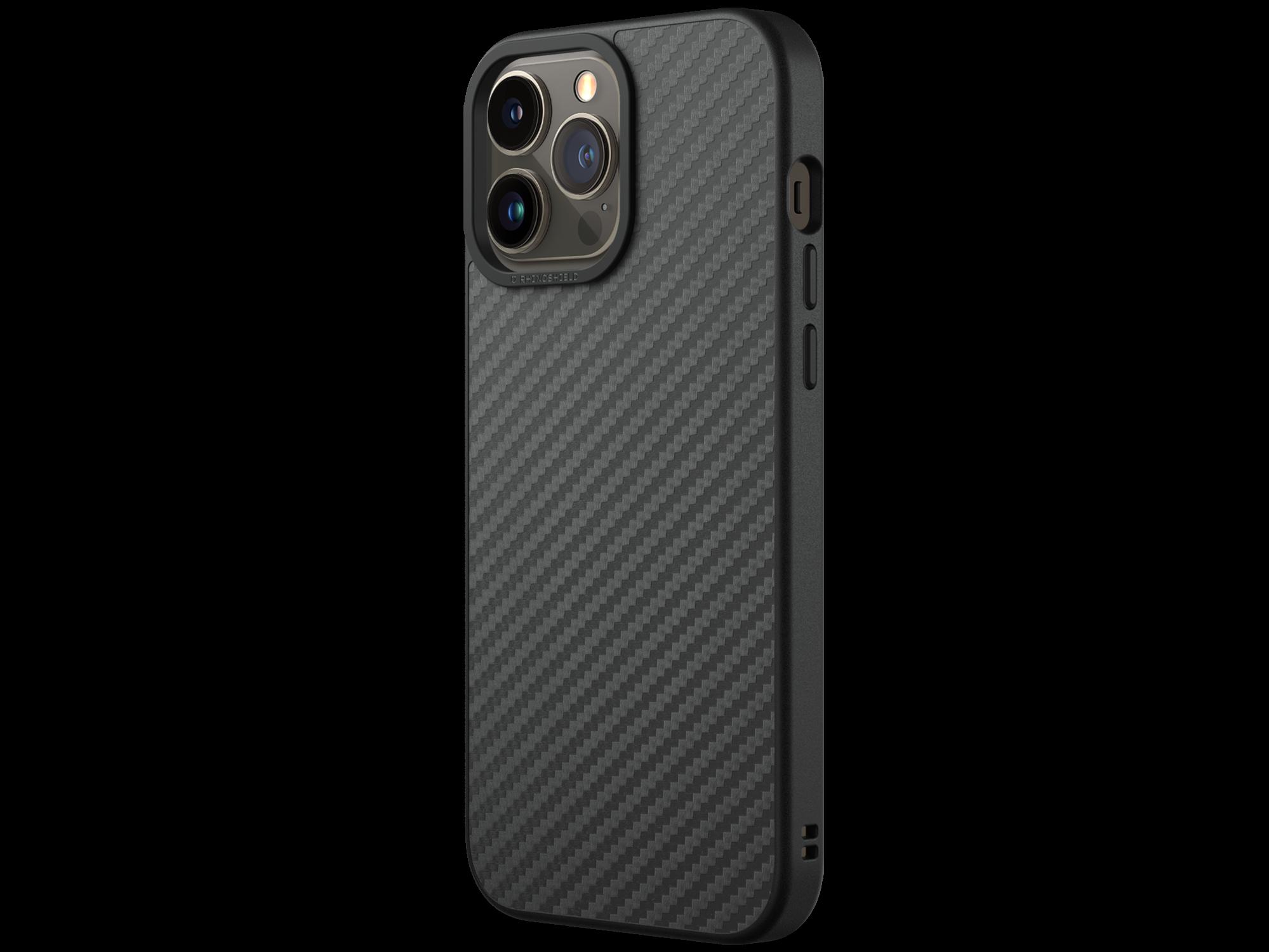 SolidSuit Skal iPhone 13 Pro Max Carbon Black