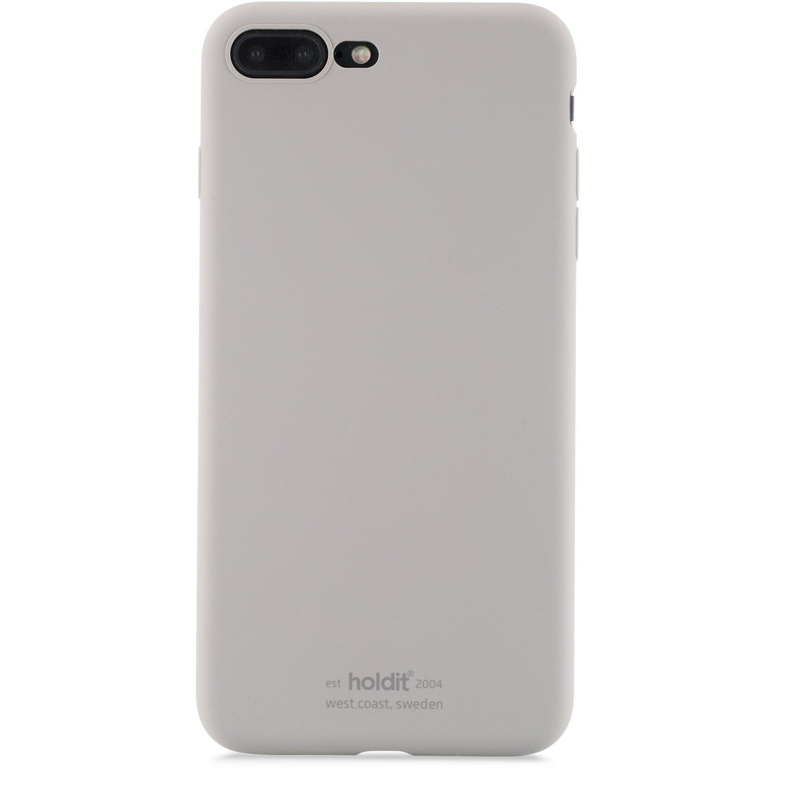 Silikonskal iPhone 7 Plus/8 Plus Taupe