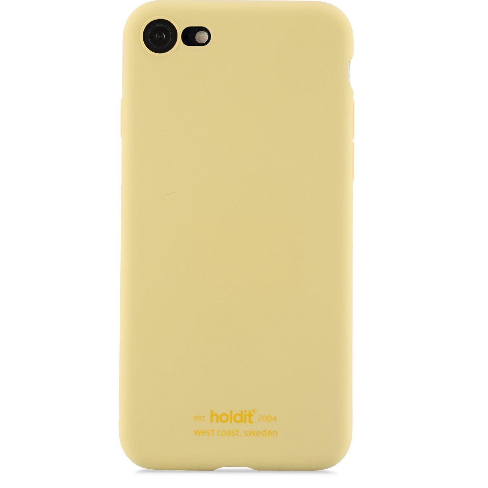 Silikonskal iPhone 7/8/SE 2020 Yellow