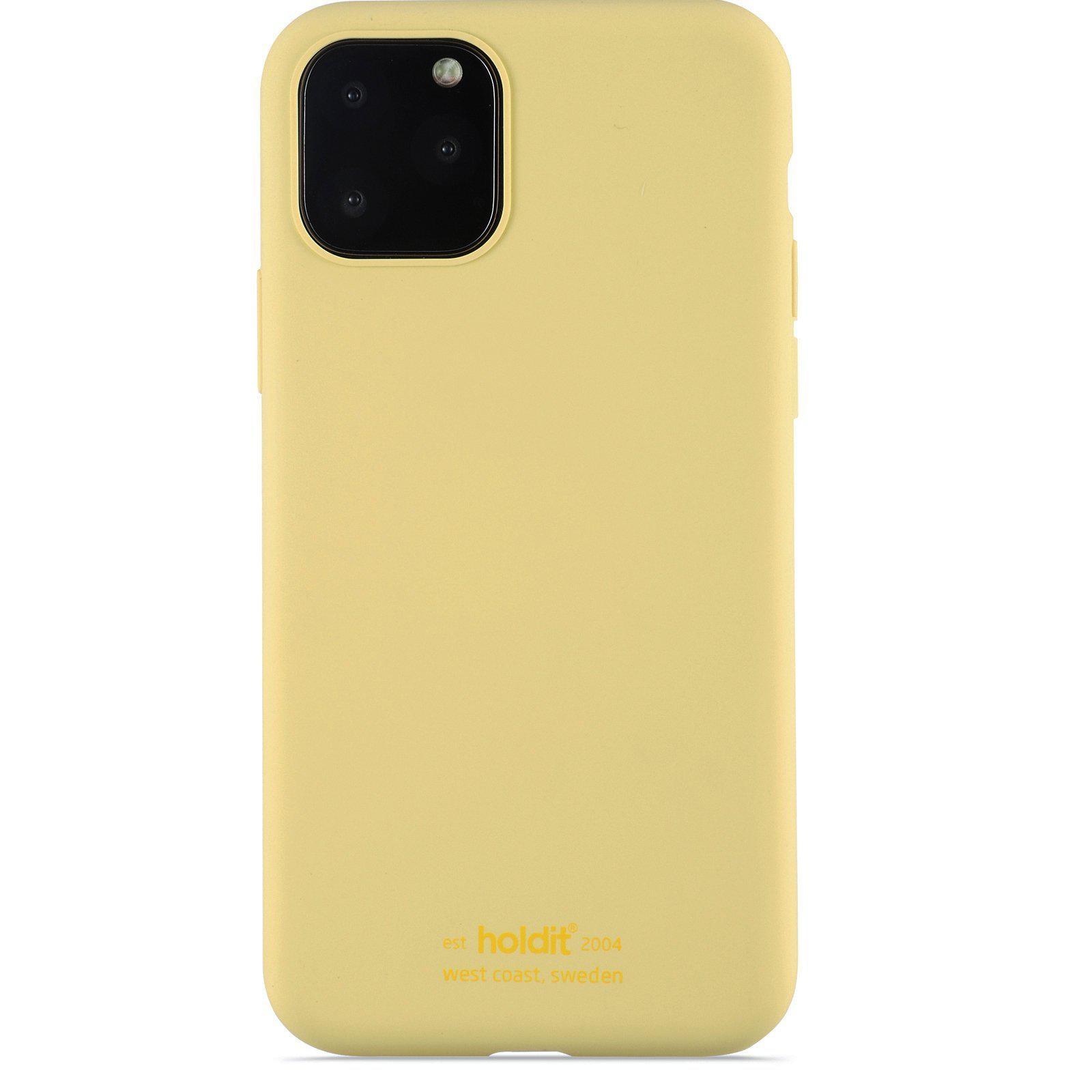 Silikonskal iPhone 11 Pro/XS/X Yellow