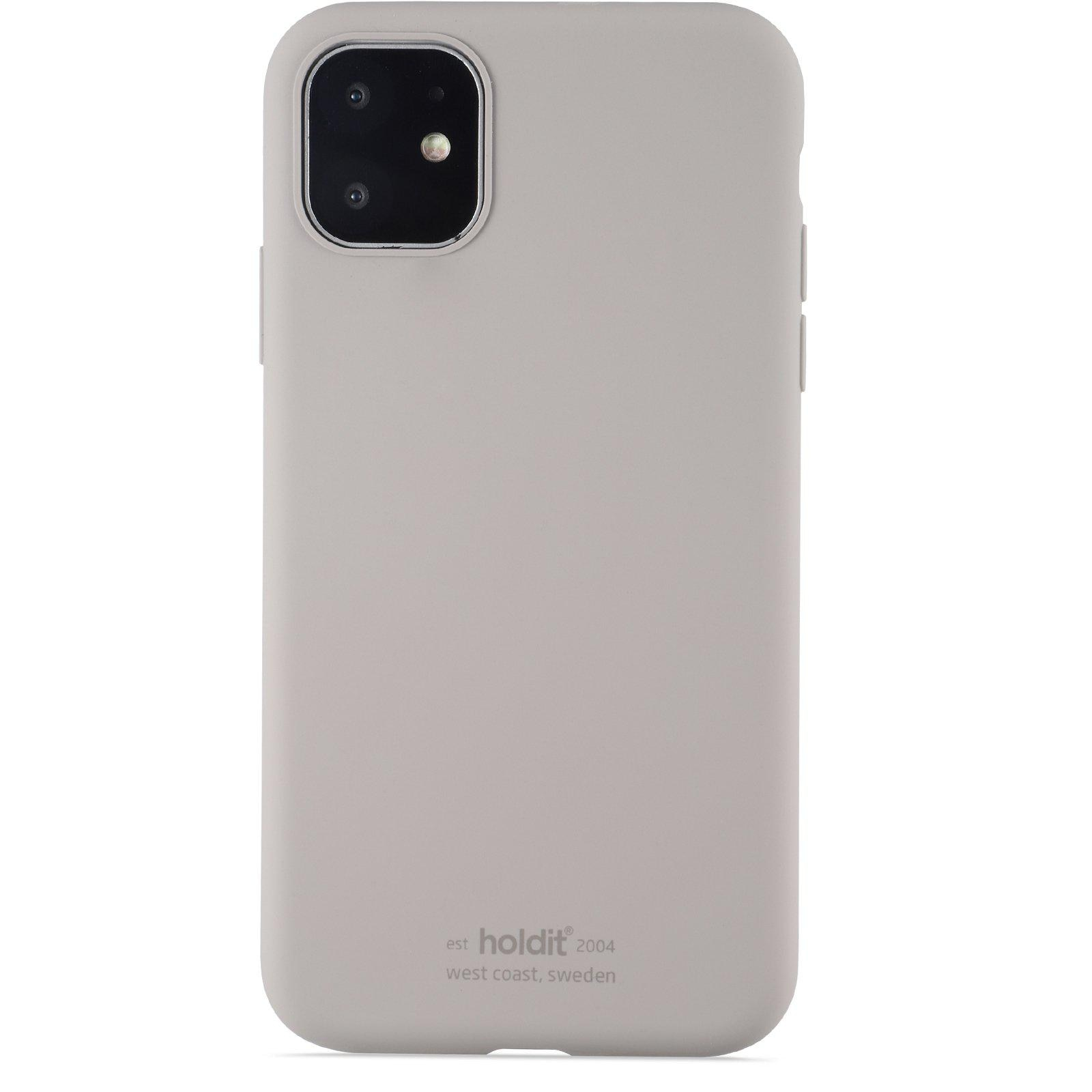Silikonskal iPhone 11/XR Taupe