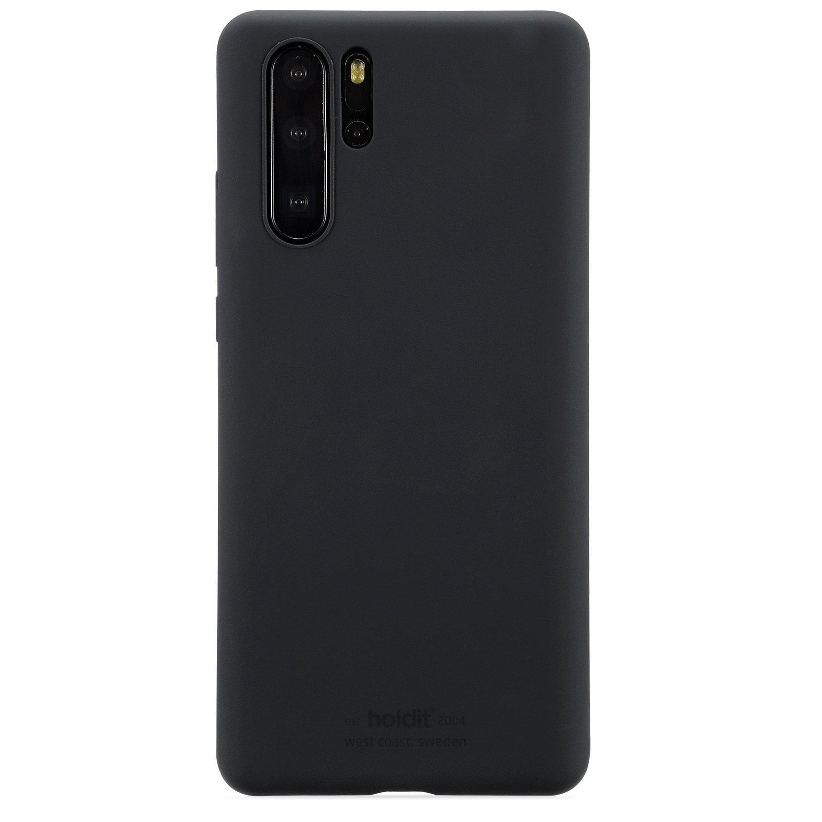 Silikonskal Huawei P30 Pro Black