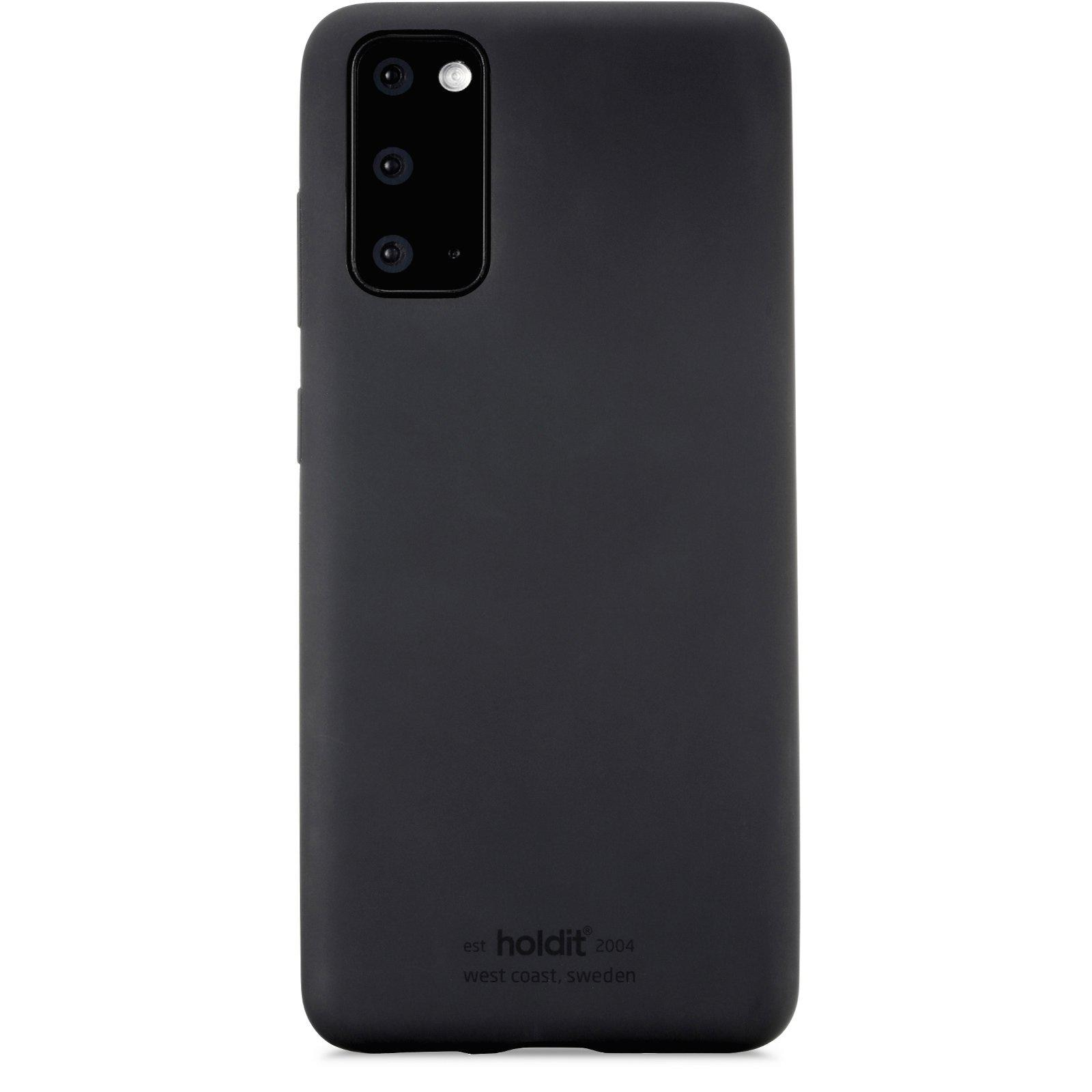 Silikonskal Galaxy S20 Black