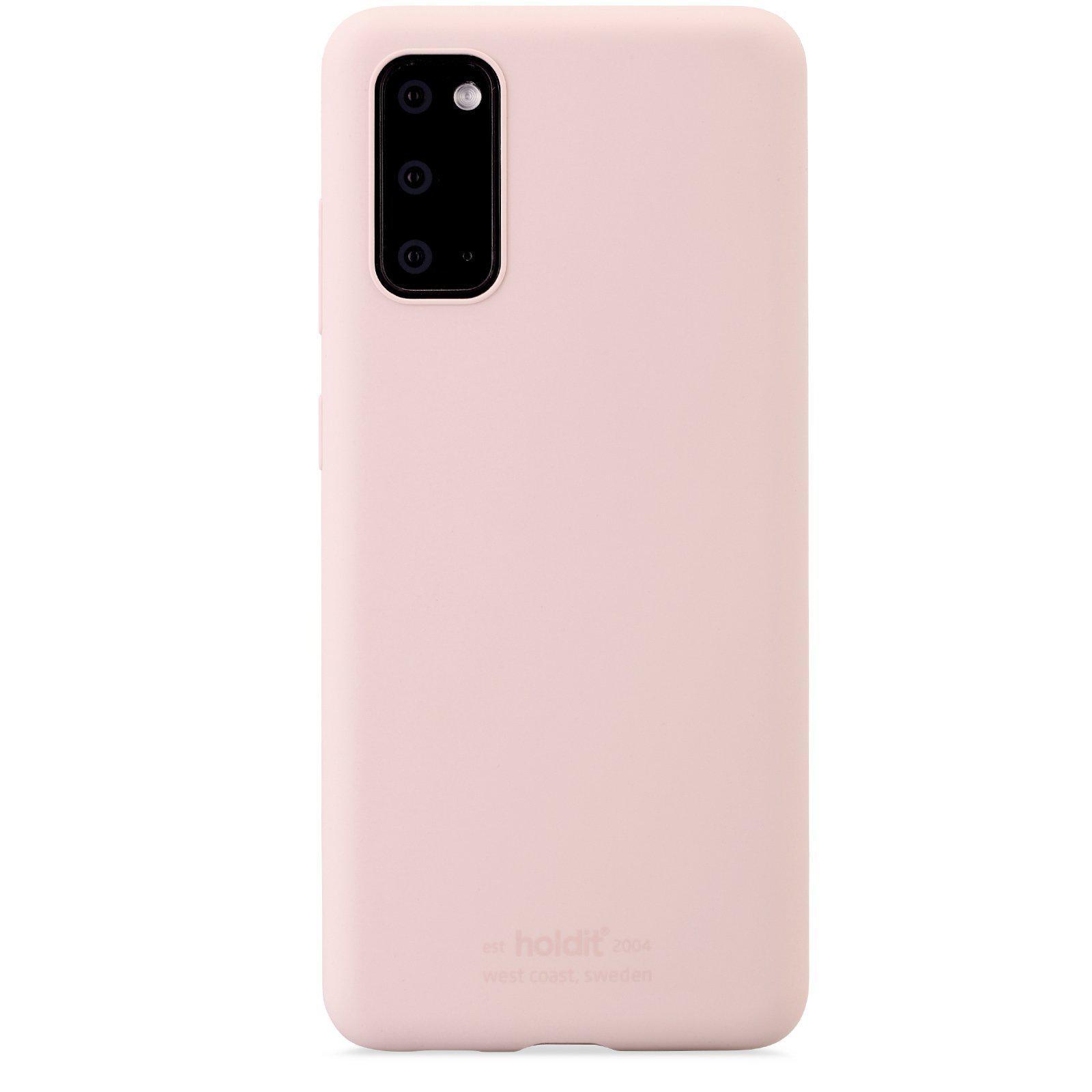 Silikonskal Galaxy S20 Blush Pink