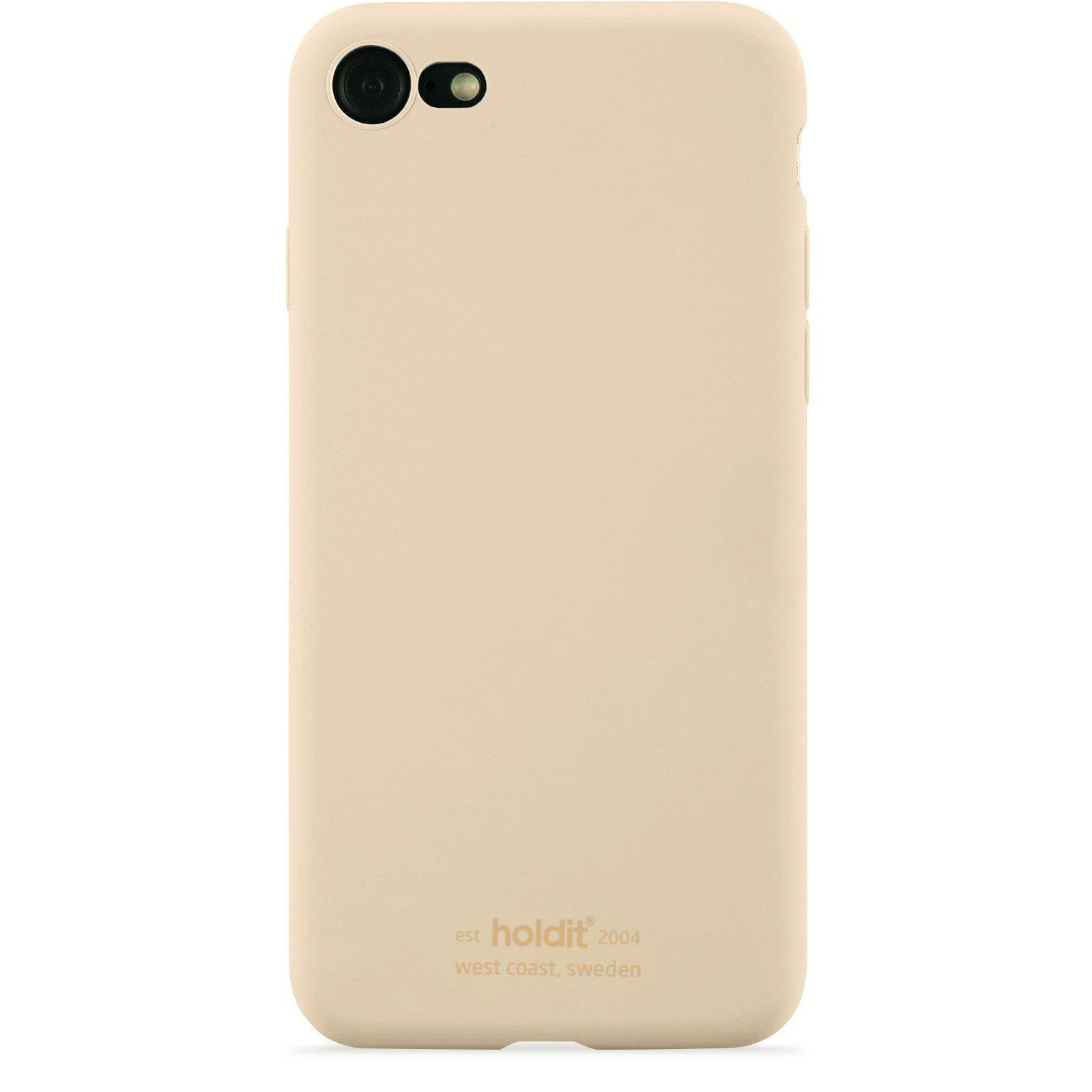 Silikonskal iPhone 7/8/SE 2020 Beige