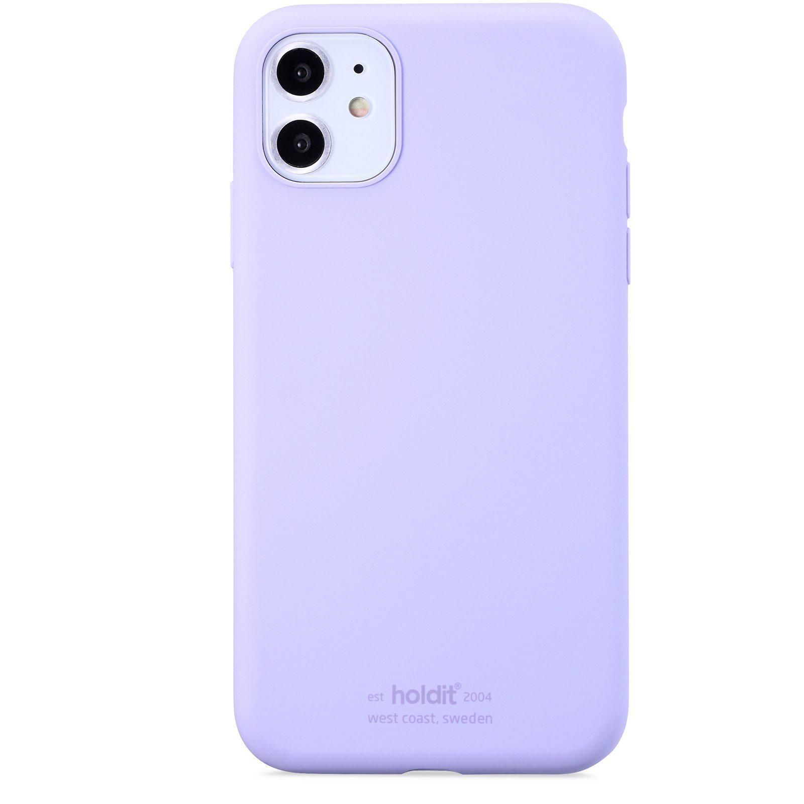 Silikonskal iPhone 11/XR Lavender
