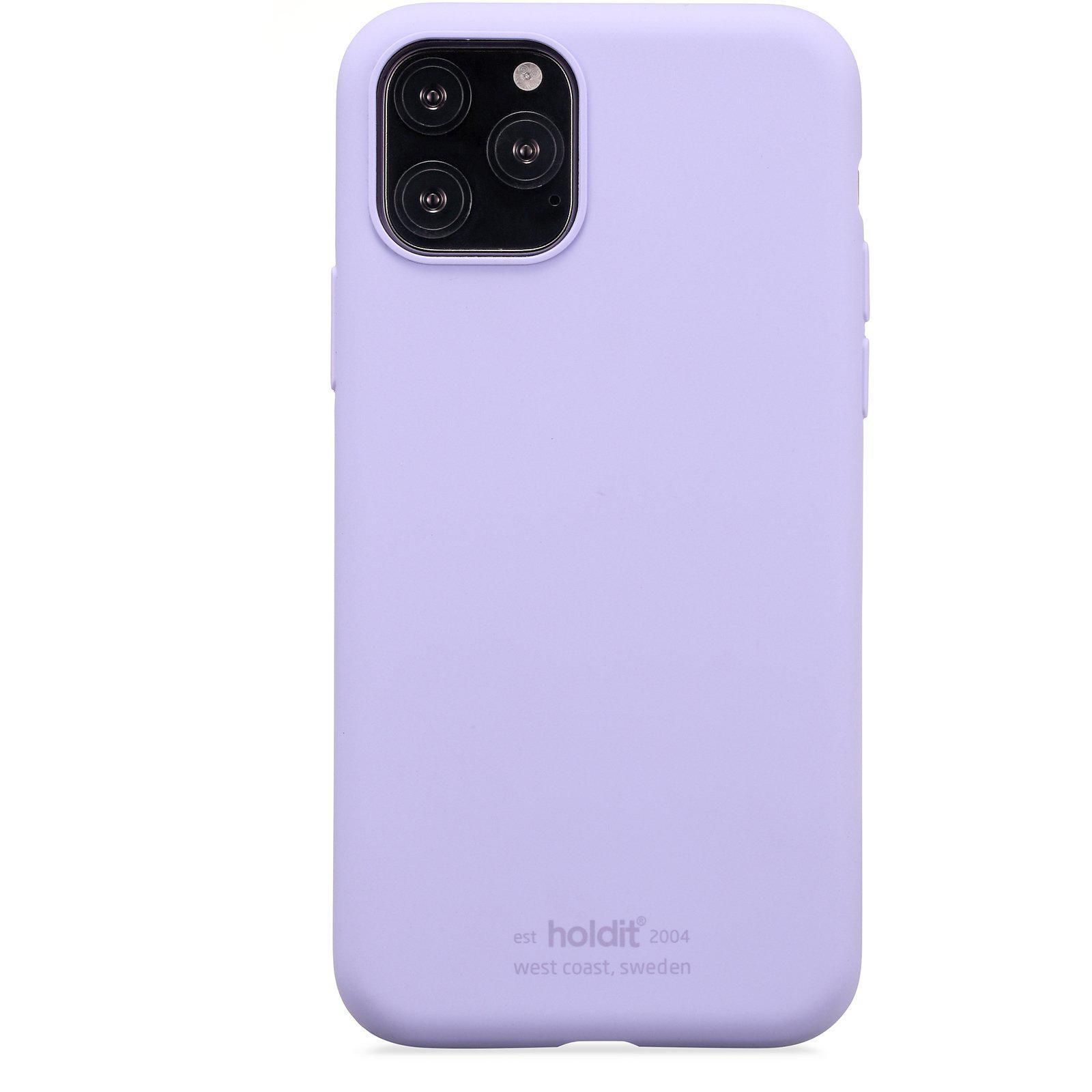 Silikonskal iPhone 11 Pro/XS/X Lavender