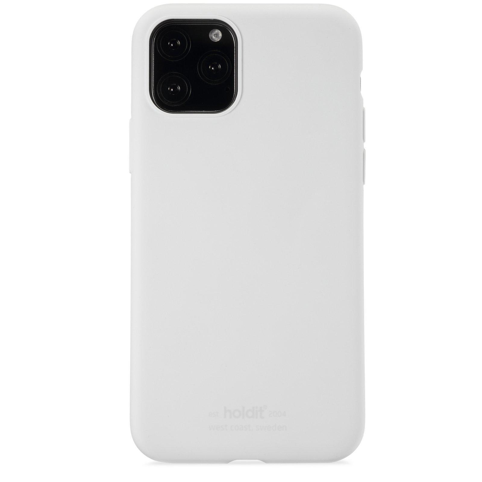Silikonskal iPhone 11 Pro/XS/X White