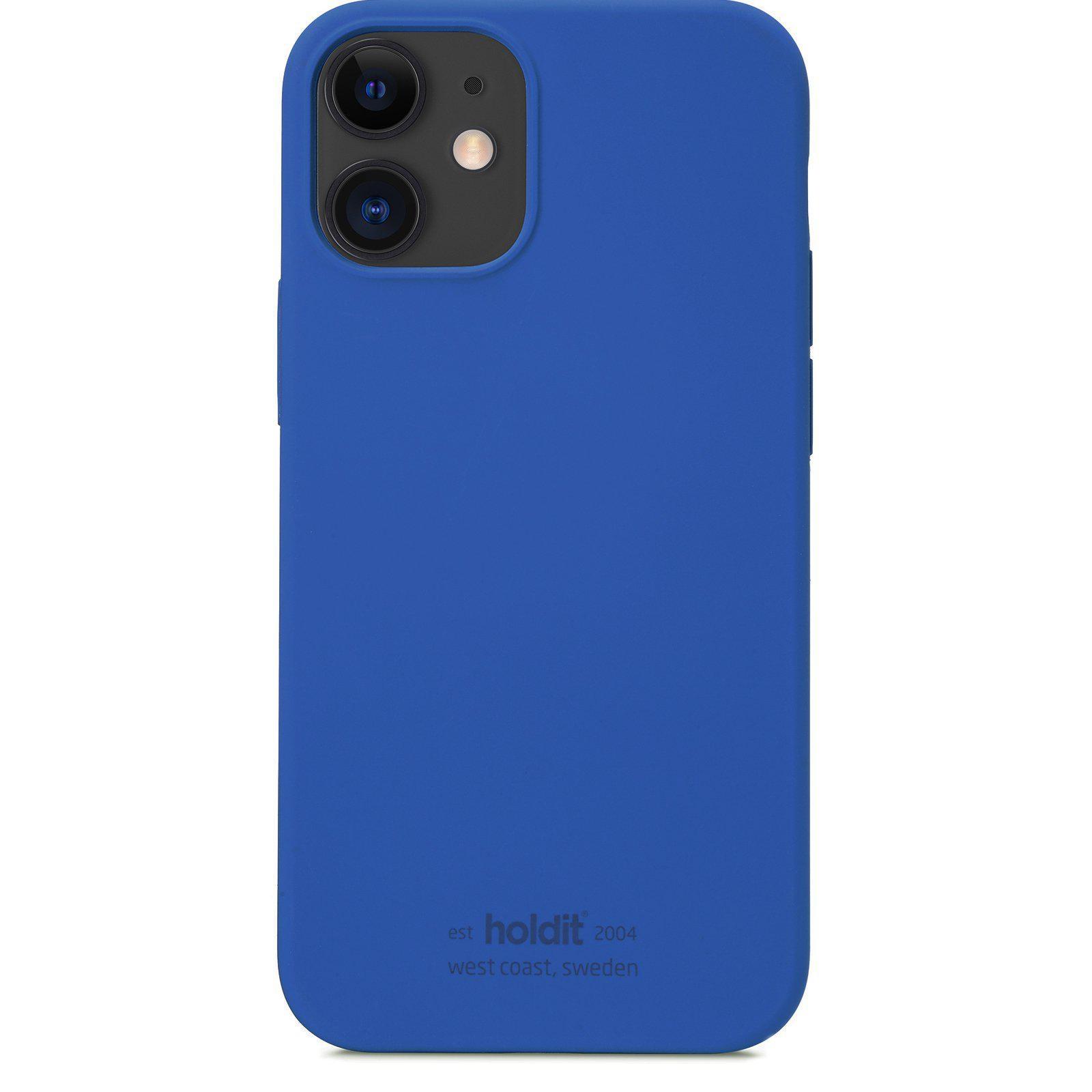 Silikonskal iPhone 12 Mini Royal Blue