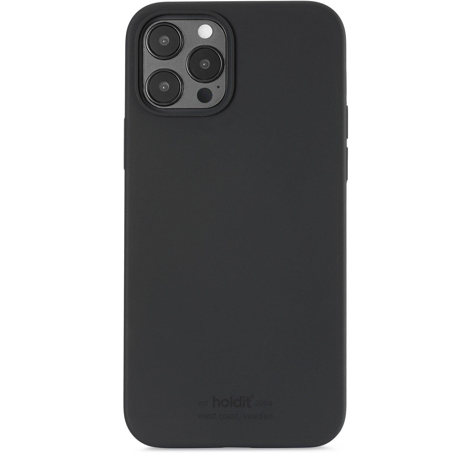 Silikonskal iPhone 12/12 Pro Black