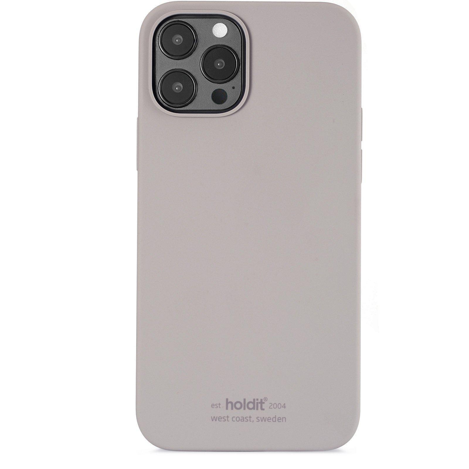 Silikonskal iPhone 12/12 Pro Taupe