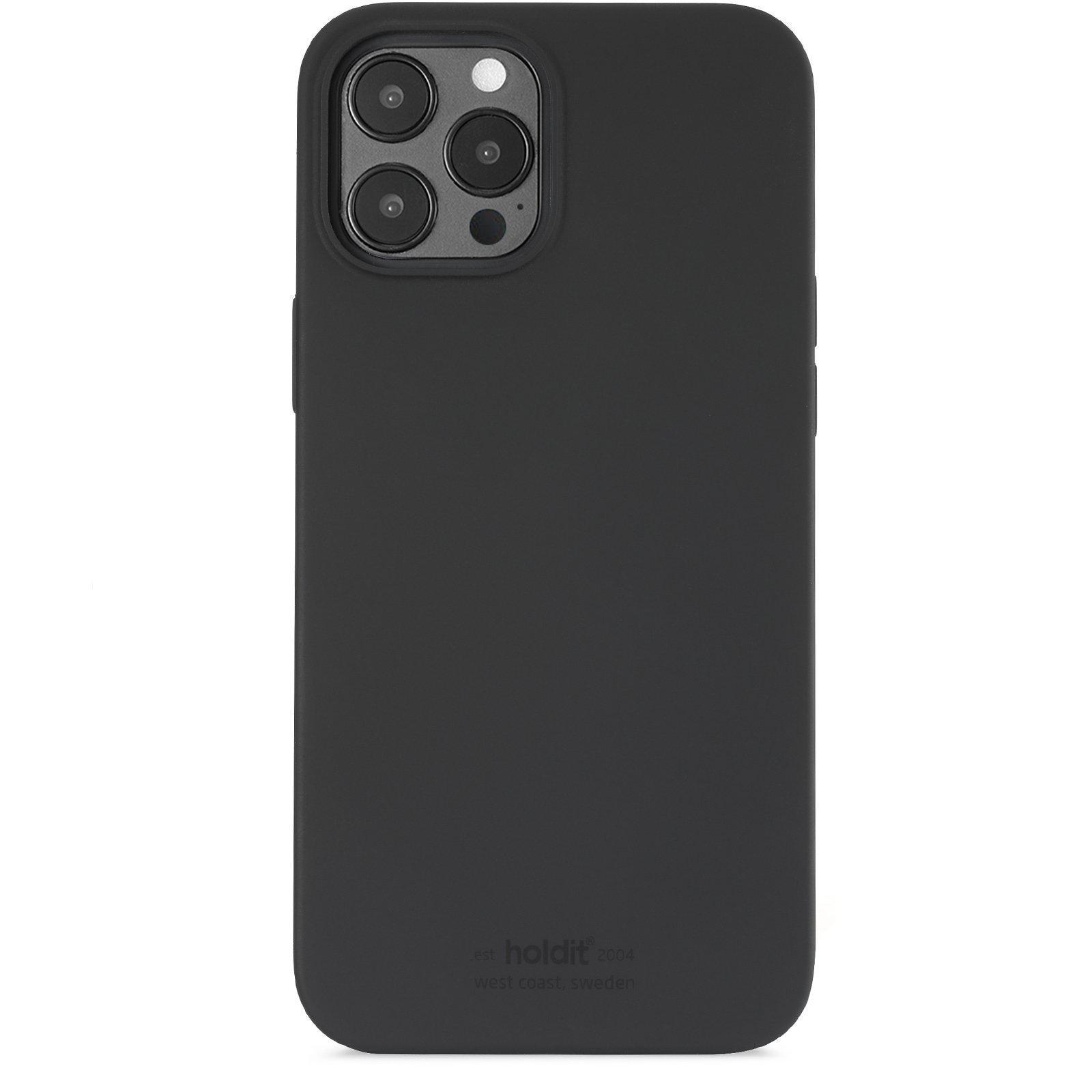 Silikonskal iPhone 12 Pro Max Black
