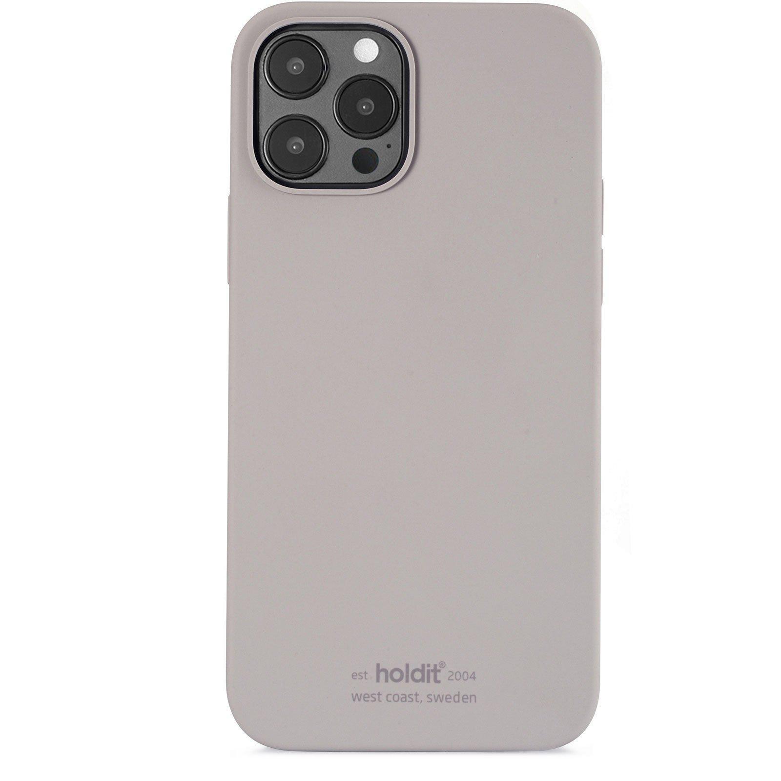 Silikonskal iPhone 12 Pro Max Taupe