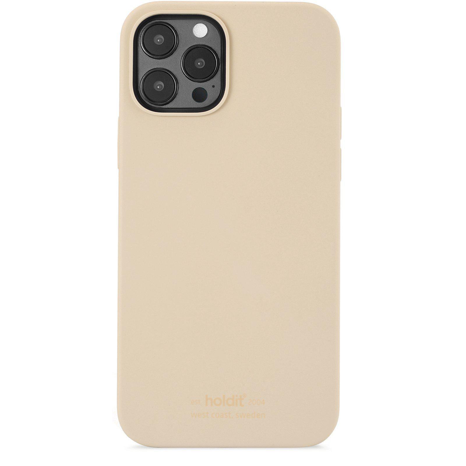 Silikonskal iPhone 12/12 Pro Beige