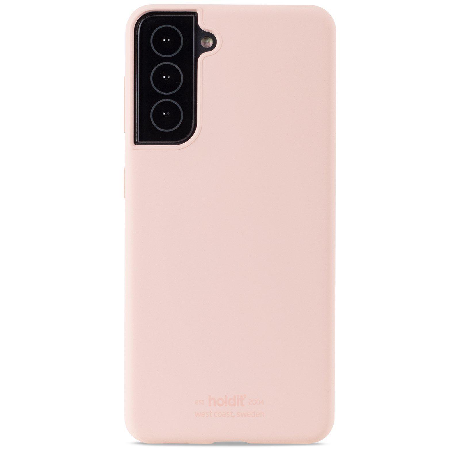 Silikonskal Samsung Galaxy S21 Blush Pink