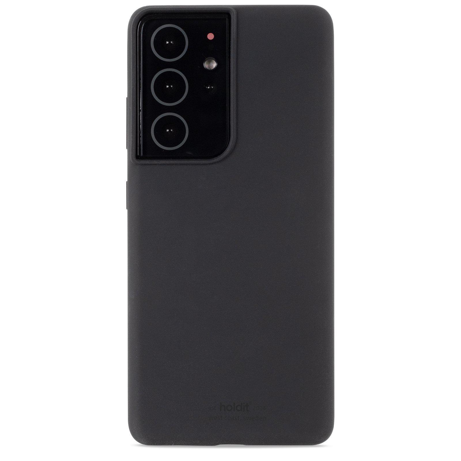 Silikonskal Galaxy S21 Ultra Black