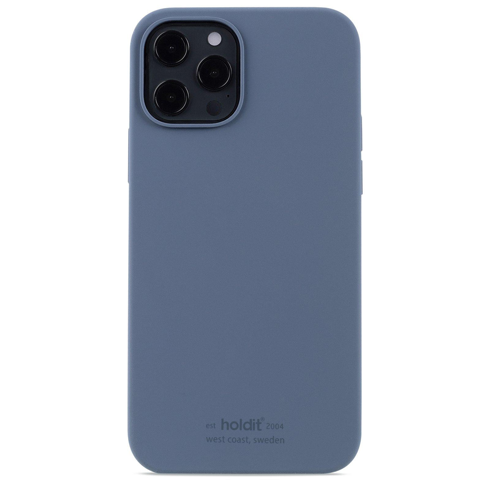 Silikonskal iPhone 12/12 Pro Pacific Blue