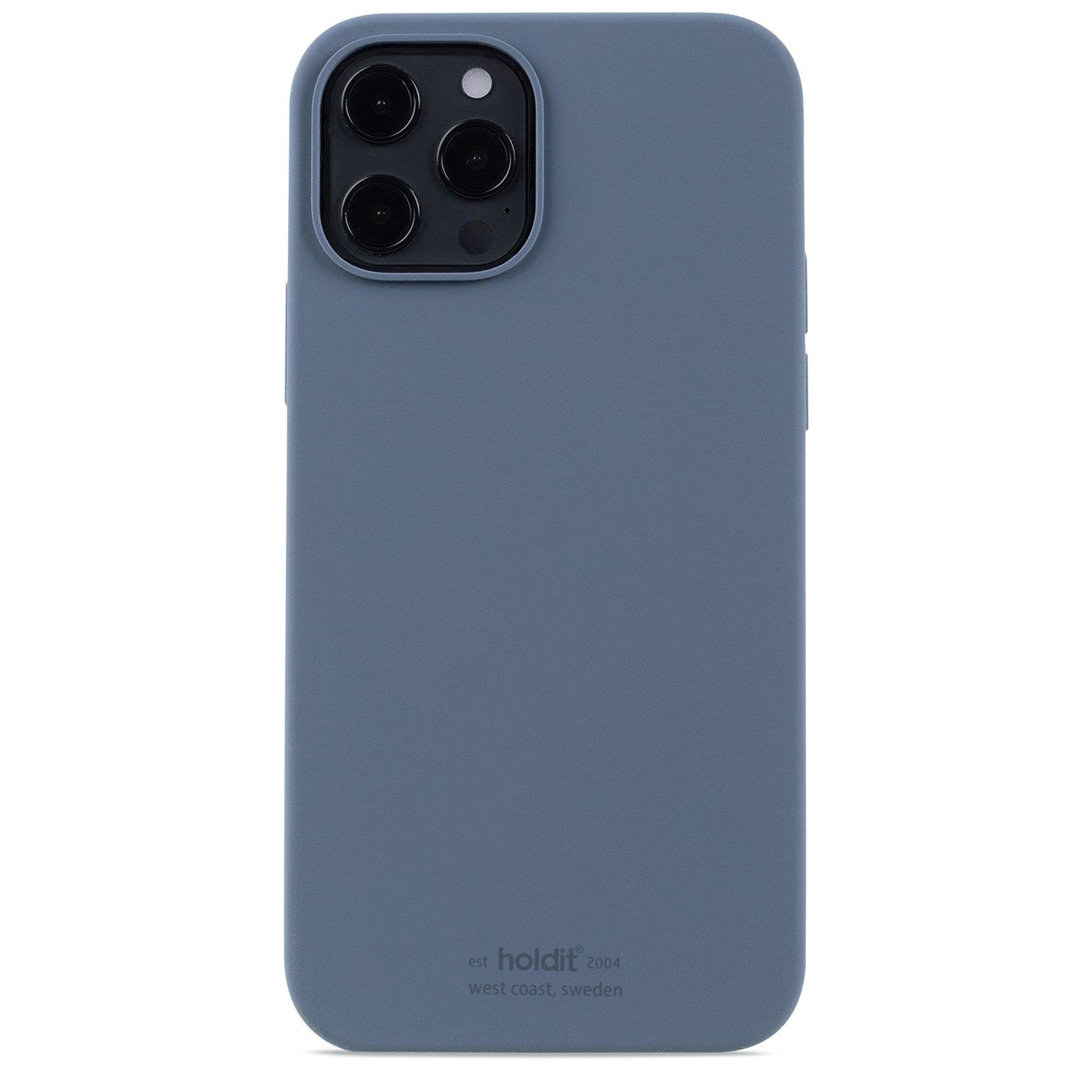 Silikonskal iPhone 12 Pro Max Pacific Blue
