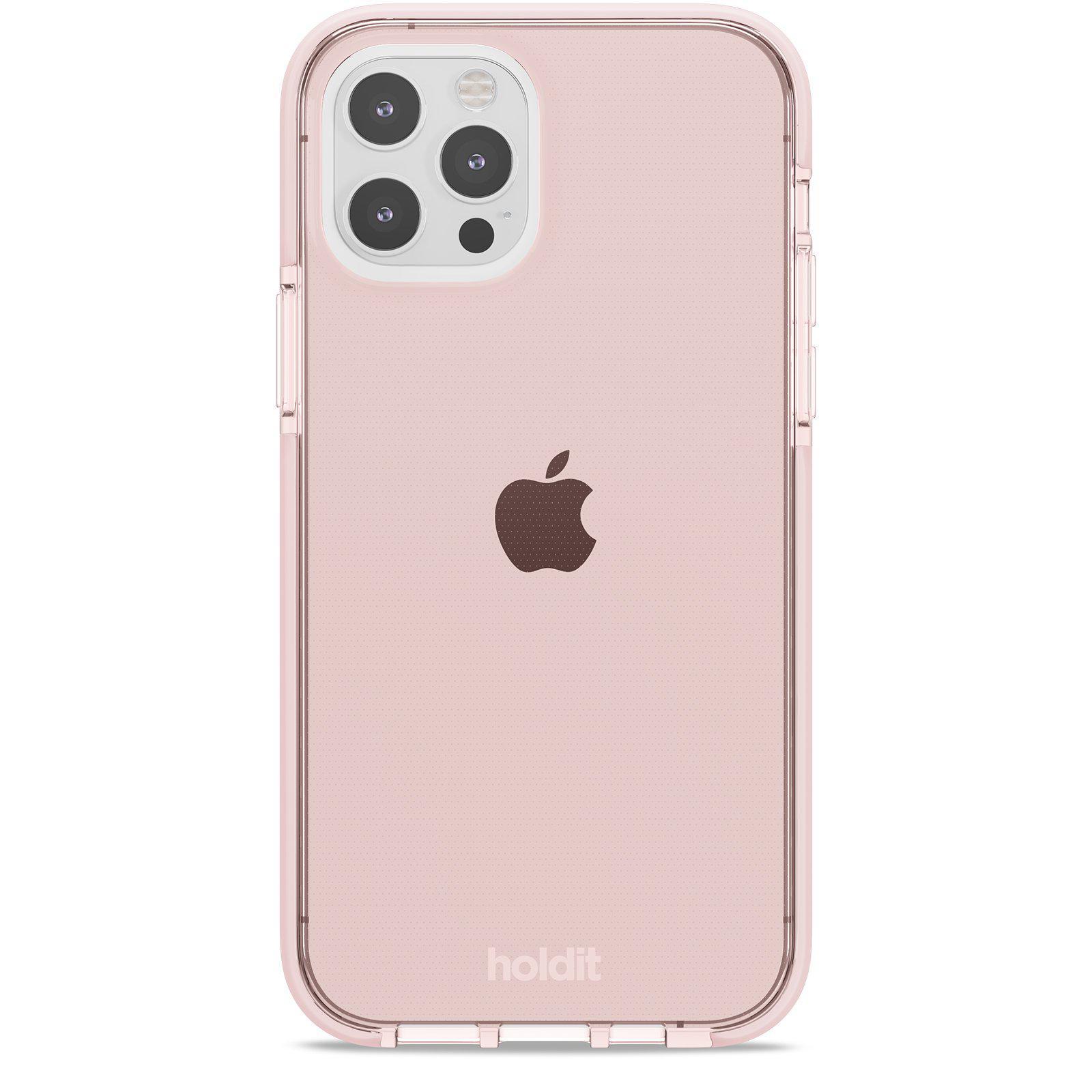 Seethru Skal iPhone 12/12 Pro Blush Pink